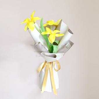 Glowing Inside (Yellow Tulips Bouquet)