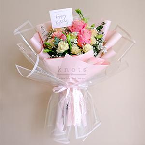 My Sweetest Wish (Pink Ecuadorian Roses Bouquet)