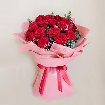 Petal Promises (Red Ecuadorian Bouquet)