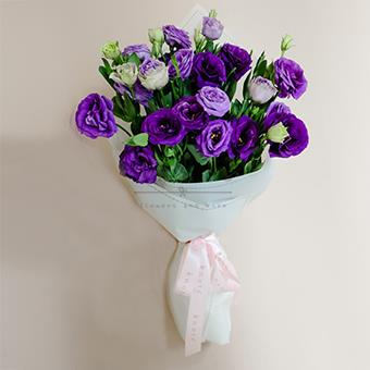 Purple Revelry (Purple Lisianthus Bouquet)