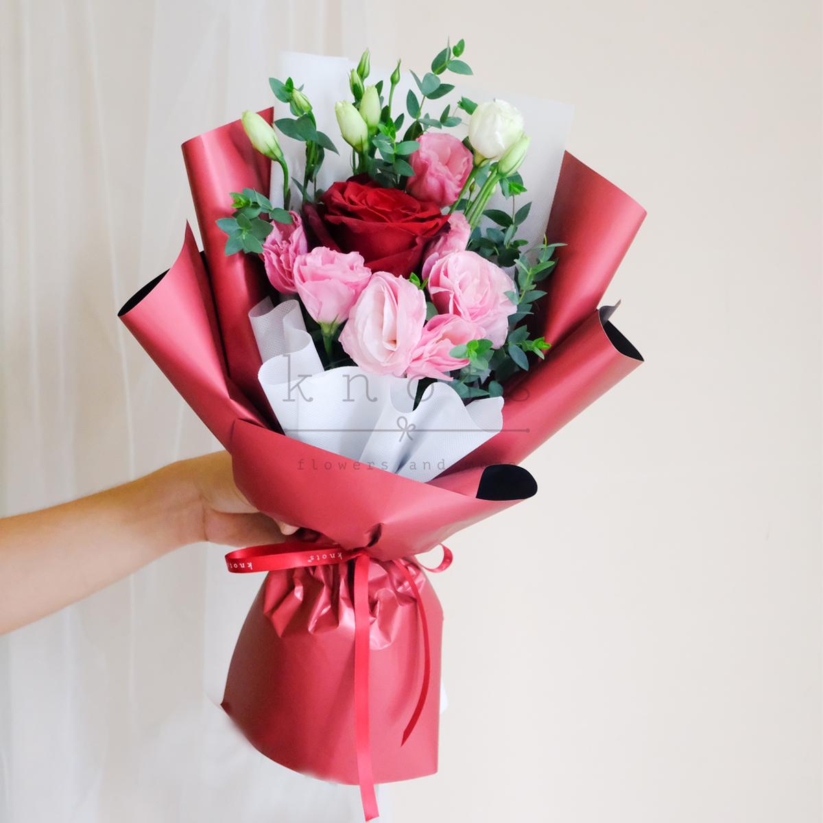 Red Ecuadorian Rose Bouquet