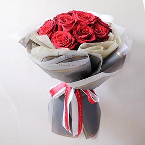 Enticing Flavor (Red Ecuadorian Roses Bouquet)