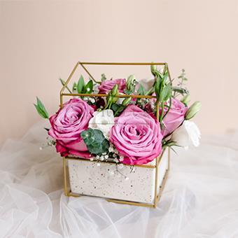 Purple Serenity (Purple Roses Arrangement)