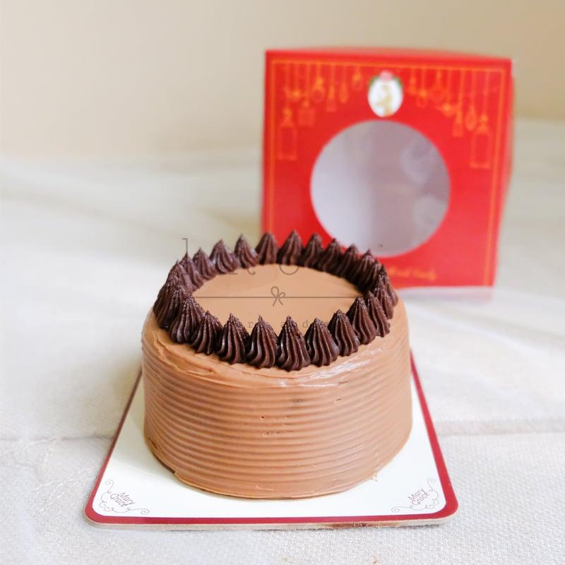 Mini Truffle Chocolate Cake