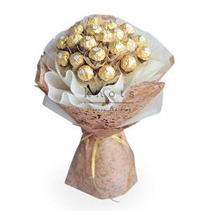 You're My Sweetest One (24 Ferrero Rocher Chocolate Bouquet)