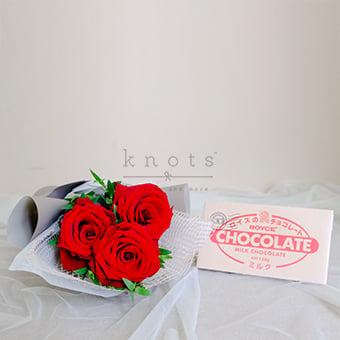 Treats for Sweetheart (Roses & Chocolates)